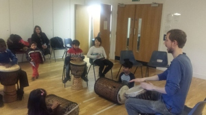 African percussion – Greenwich Young Musicians